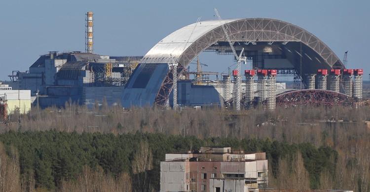 Sarcófago de la central nuclear / Chernóbil (Istock)