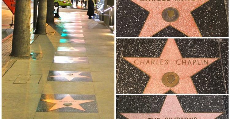 Estrella de Hollywood de Chaplin. David Fulmer (Flickr)