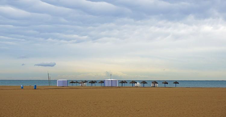 Playa de Las Arenas de Valencia. Marcus (Flickr)