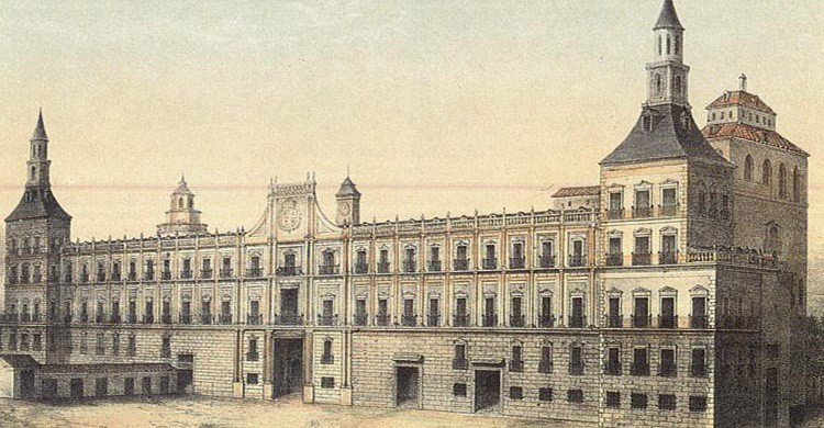 Imagen del Alcázar de Madrid (es.m.wikipedia.org).