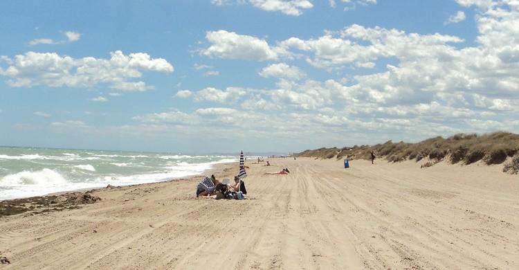 Playa de El Saler, en Valencia. Jorge Sanz (Flickr)