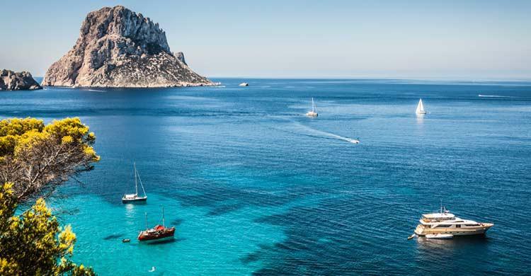 Cala d'Hort, en Ibiza (iStock)