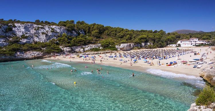 Playa en la isla de Mallorca. i_compass (iStock)