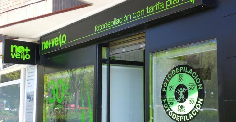 Imagen de un establecimiento No + Vello (http://franquiciamuyrentable.com).