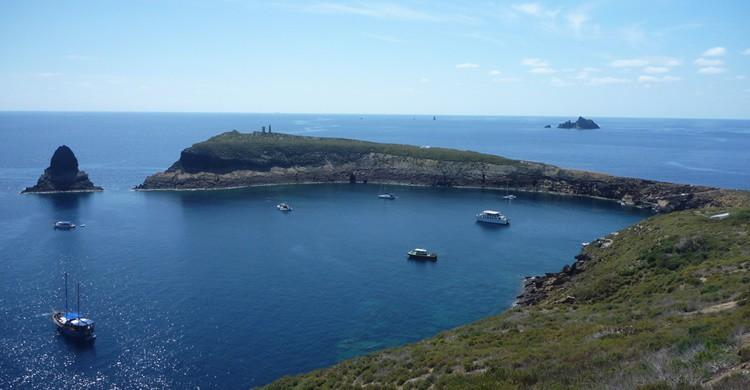 Puerto de la Isla Grande de las Columbretes. Manel (Flickr)