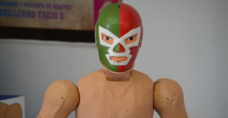 Muñeco luchador de juguete en San Miguel de Allende. S. Alexis (Flickr)