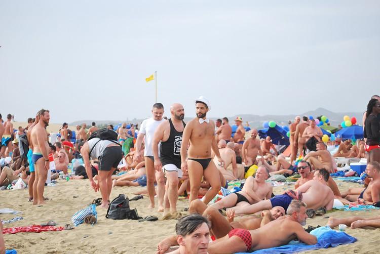 Imagen de la playa gay de Maspalomas. Giuseppe Spanu (Flickr)