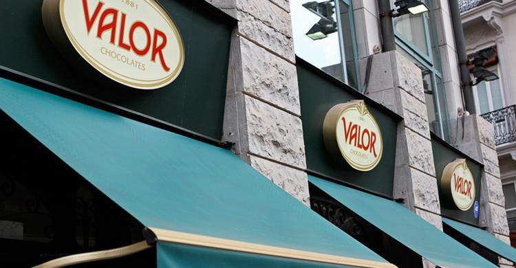 Tienda de Chocolates Valor. FeistyTortilla (Flickr)