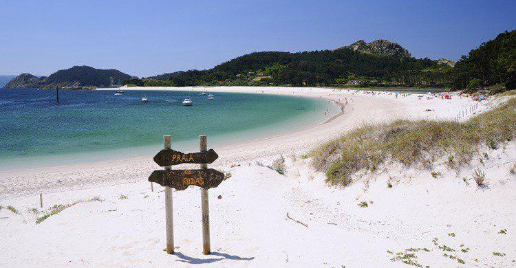 Praia de Rodas en las Islas Cíes. StockPhotoAstur (iStock)