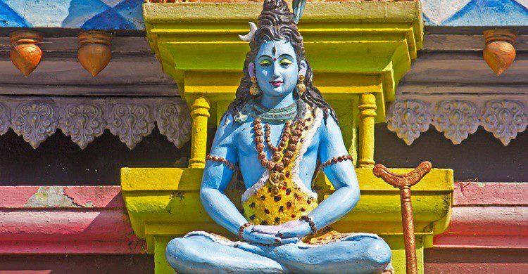Imagen de Shiva en el monte Kailash. Vbel71 (iStock)