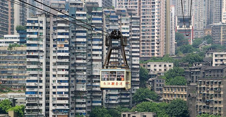 Chongqing, China (Clément Belleudy, Flickr)