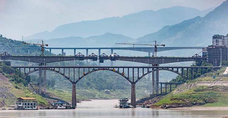 Chongqing, China (Thomas Bächinger, Flickr)