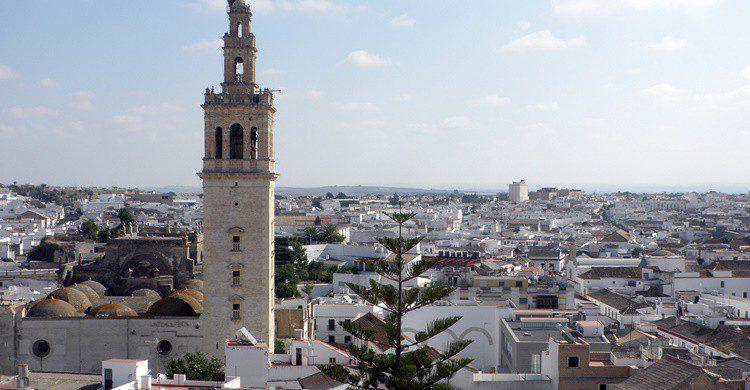 Vista de Lebrija. Emilio J. Rodríguez-Posada (Flickr)