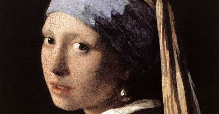 """""""La joven de la perla""""se halla en laGalería Mauristshuis de La Haya (wikimedia.org)"""