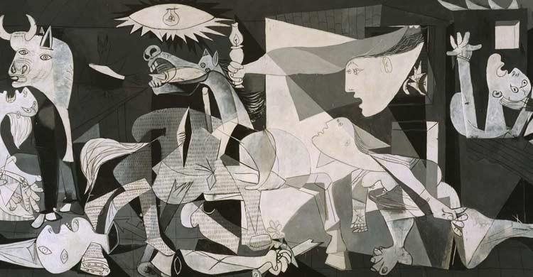 El Guernica, de Picasso, se encuentra en el Museo Reina Sofía de Madrid (museoreinasofia.es)