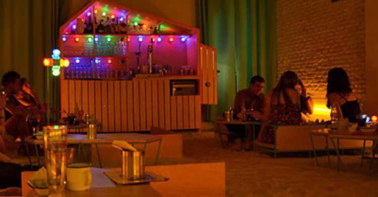 Restaurante Ojalá, en Malasaña