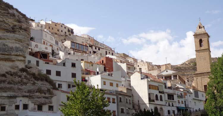 Alcalá del Júcar, en la provincia de Albacete (wikimedia.org)