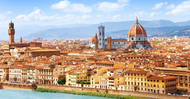 Anda por Florencia es como visitar un museo al aire libre. (iStock)