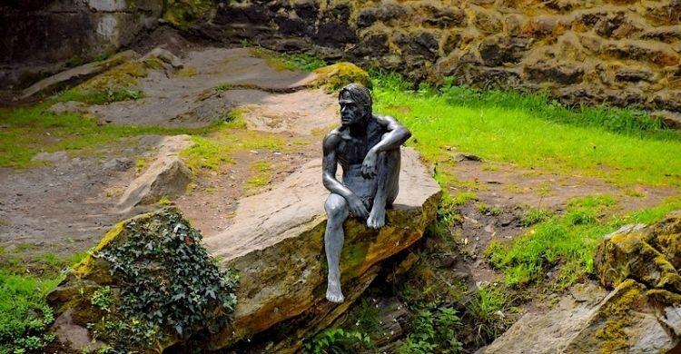 La estatua del Hombre Pez (Foto Flickr - Realizada por Andoni Guridi)