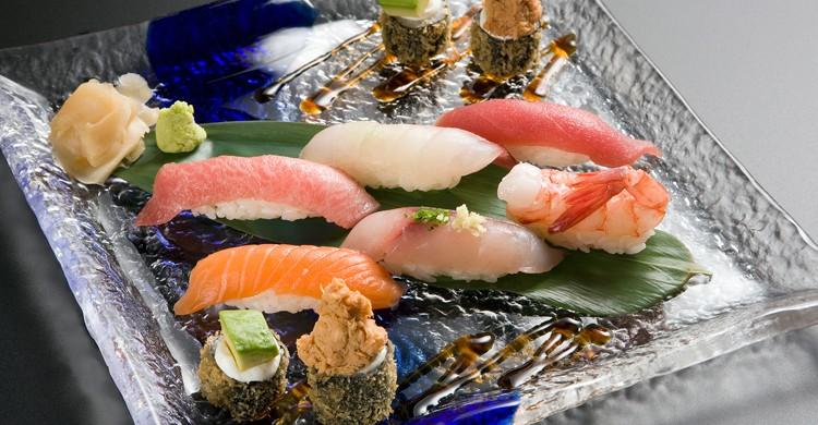 Sushi combinado (Web del restaurante Miyama)