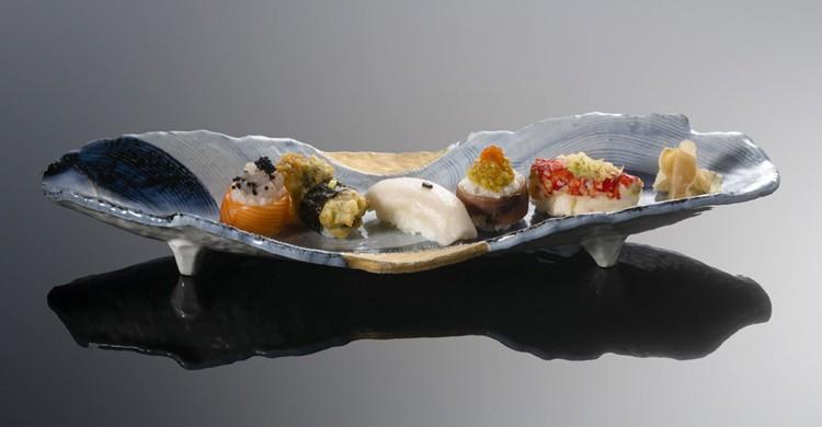 Bandeja de sushi (Web de Soy Pedro Espina)