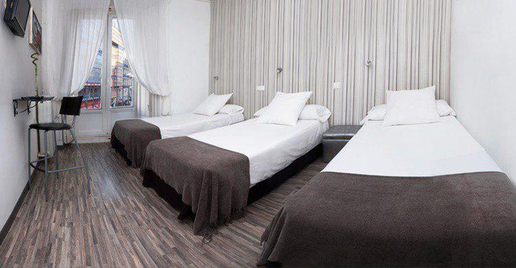 Habitación del Hotel Gala (http://www.hostalgala.com/el-hostal/)
