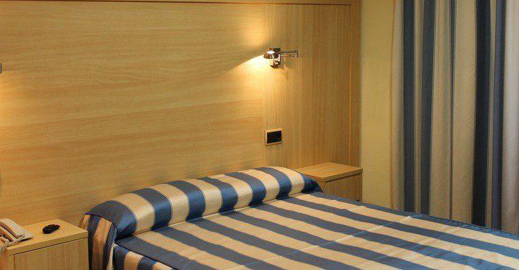 Habitación del Hotel Canton (http://www.hotelcanton-bcn.com/)