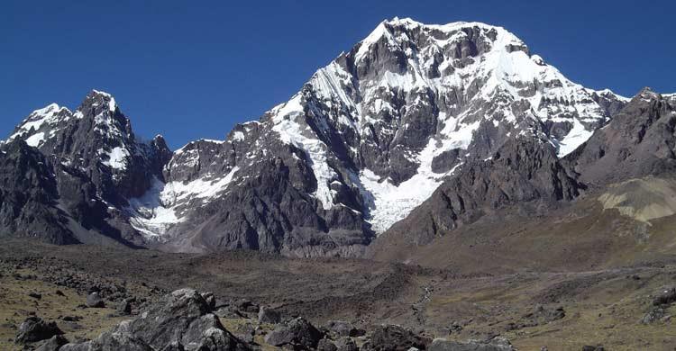 Ausangate se encuentra en la cordillera de los Andes (wikimedia.org)