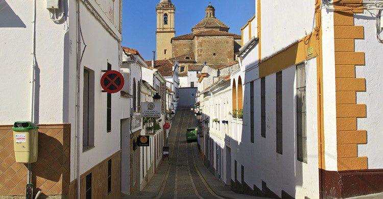 Calle de Jabugo. Tomás Fano (Flickr)