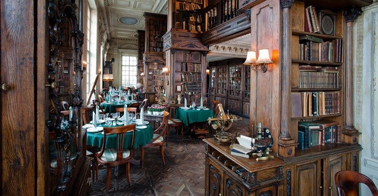 Biblioteca (Web del Café Pushkin)