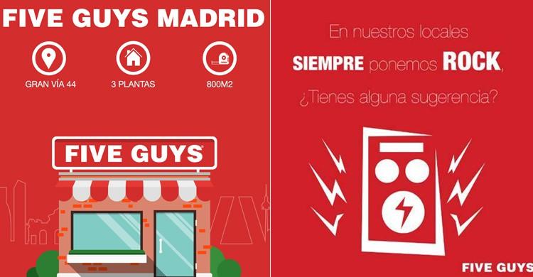 Five Guys Madrid (Five Guys, Facebook)