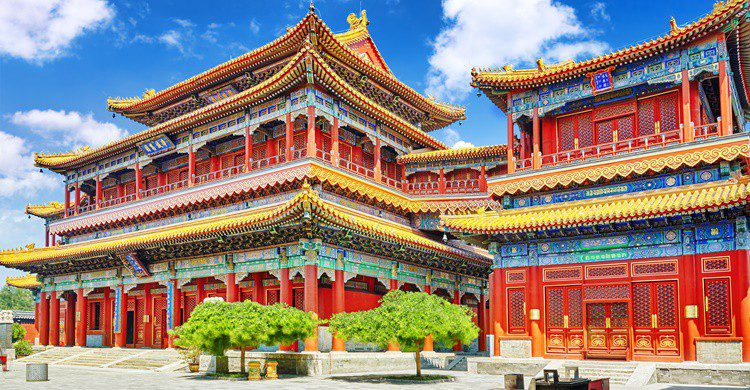 Templo de Yonghegong en China. VitalyEdush (iStock)