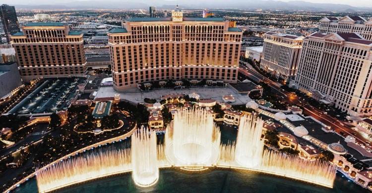 Las fuentes del Bellagio (Web del Bellagio Las Vegas)