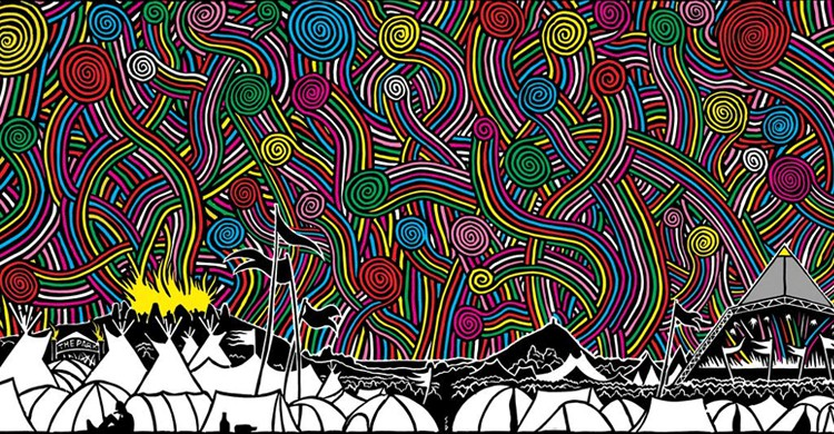 Artwork del 2016 (Glastonbury Festival, Facebook)