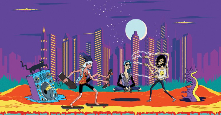 Artwork (Web del Lollapalooza)