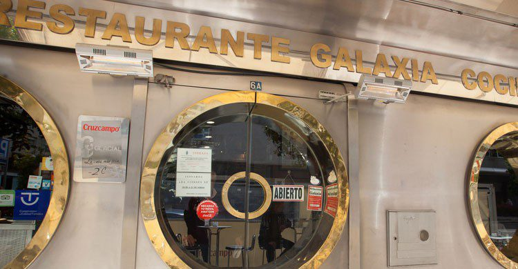 Restaurante Galaxia en Badajoz (Fuente: extremadura.com)