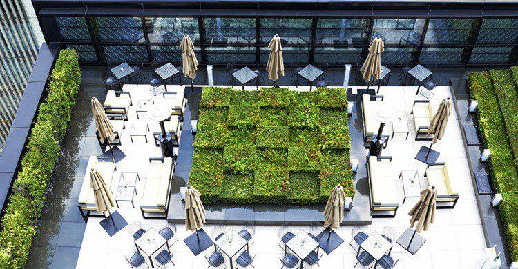 Restaurante Beige en el edificio Chanel de Tokio. (http://www.beige-tokyo.com)