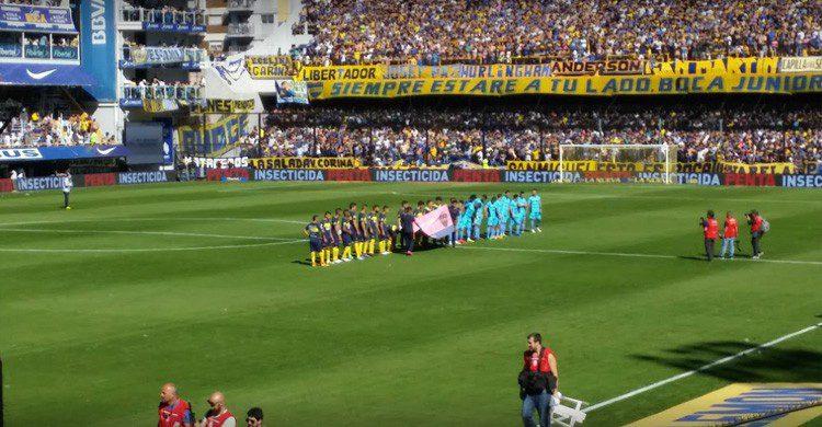 Estadio La Bombonera de Boca Juniors (google maps)
