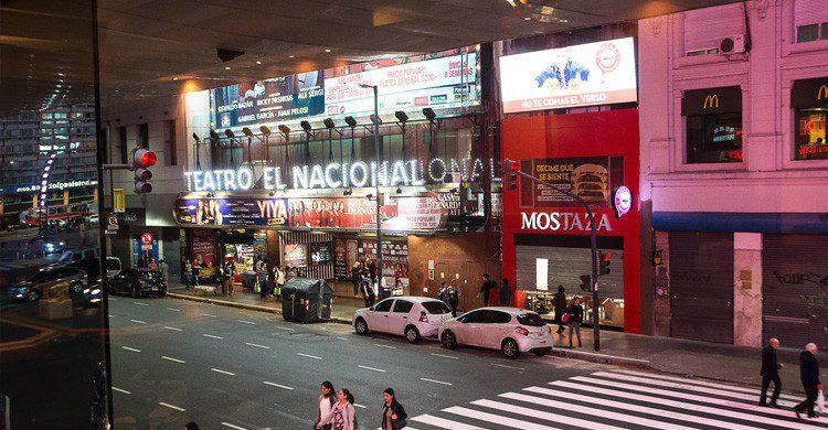 Teatro Nacional en Buenos Aires (googlemaps)