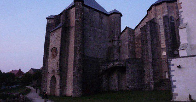 Abadía en Roncesvalles. Arendle (Flickr)