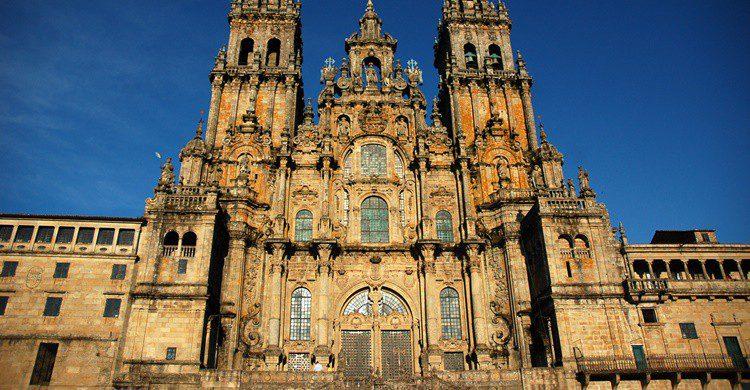 Catedral de Santiago de Compostela, etapa final del Camino de Santiago. CarlosGFernandez (iStock)