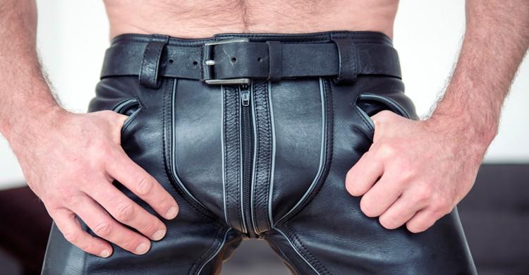 Fotografía de pantalones de cuero