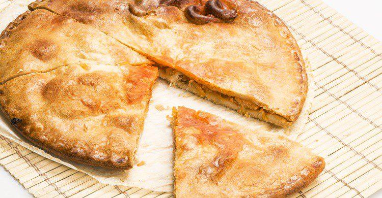 Imagen de una empanada típica de Galicia. Airrazab (iStock)