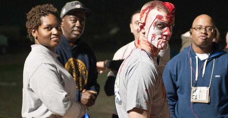 Carrera zombi en Estados Unidos