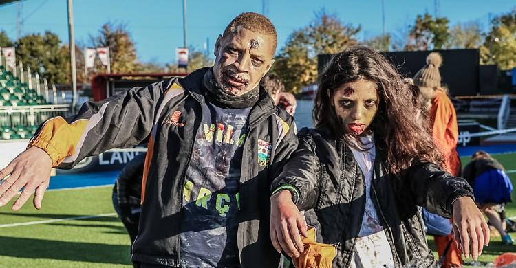 carrera zombi en Reino Unido