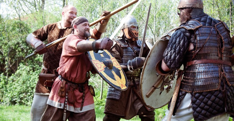 Lucha de vikingos (Hans Splinter, Flickr)