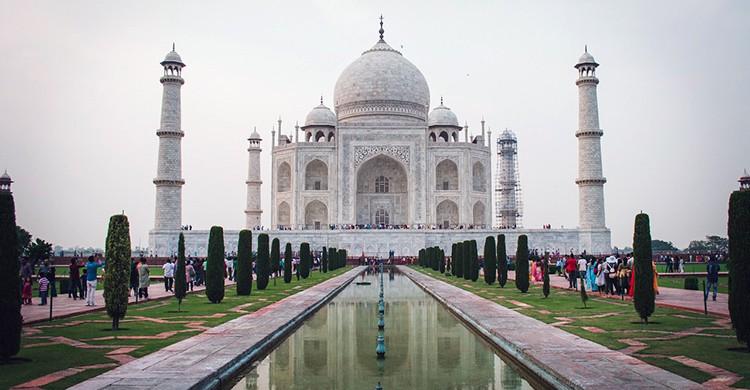 Vistas del Taj Mahal