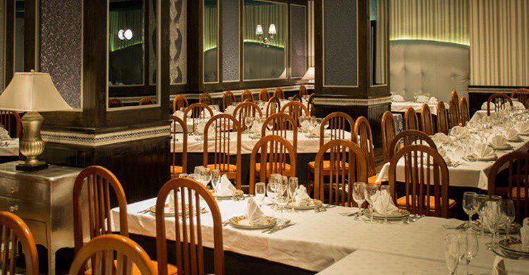 Comedor principal de Bilibio (http://restaurantebilibio.com/)