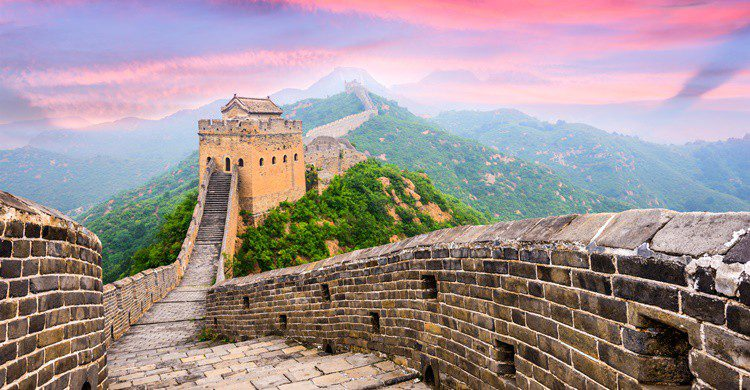 Gran Muralla china, uno de los monumentos más visitados del país. SeanPavonePhoto (iStock)