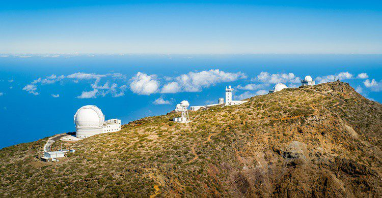 Observatorios de La Palma. AlexanderNikiforov (iStock)